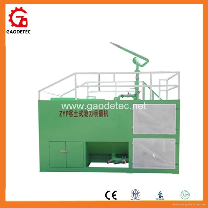 ce highway soil spraying seeder