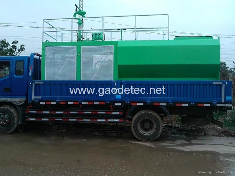 china landscaping hydro seeder