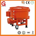 refractory material pan mixer