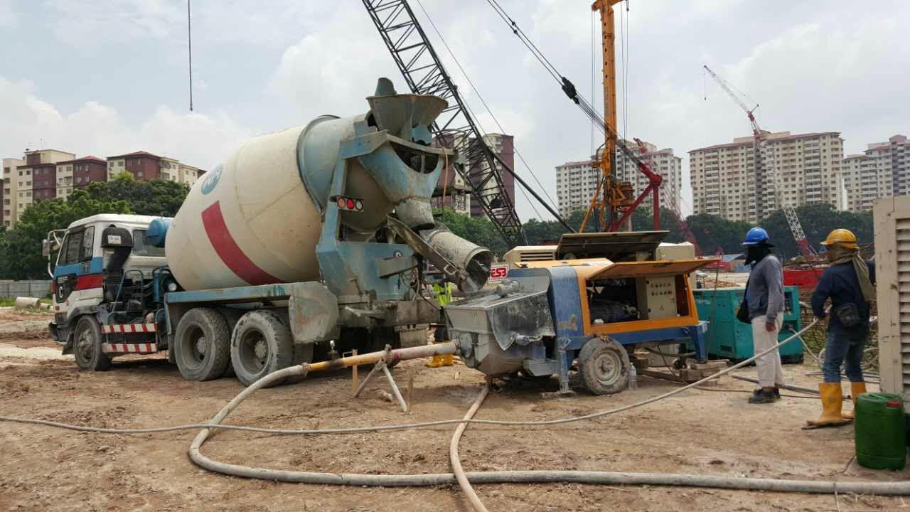 small concrete pump for sale