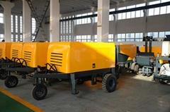 HBT-E series electric concrete pump machine