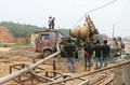 electric drive concrete mixer pump