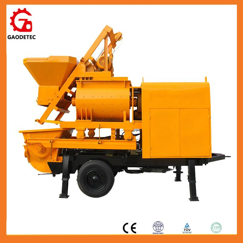 mixer concrete pump portable