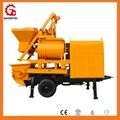 mixer concrete pump portable