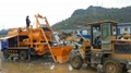 concrete mixer pumps price