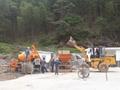 china made concrete mixer pump