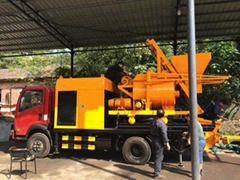 JBC40 L1 Truck mounted Concrete mixer pump