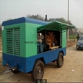 GD90 hydraulic&pneumatic borehole drilling rig