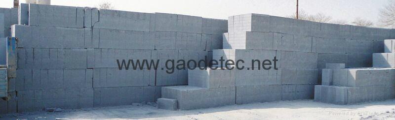 foam concrete blocks or bricks for sale