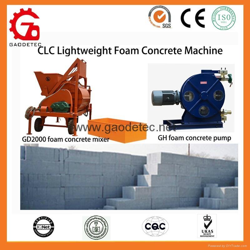 Manual CLC blocks production line