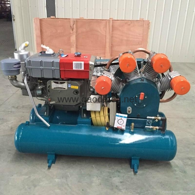 GD70 DTH drilling machine supporting air compressor