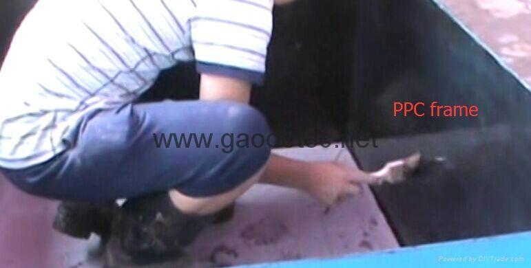 moulds for pouring foam concrete