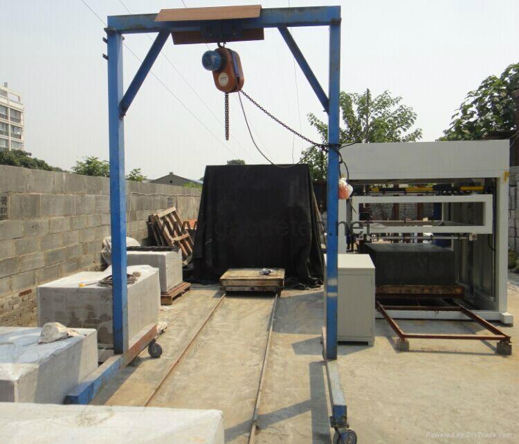 foam concrete  wire cutting machine