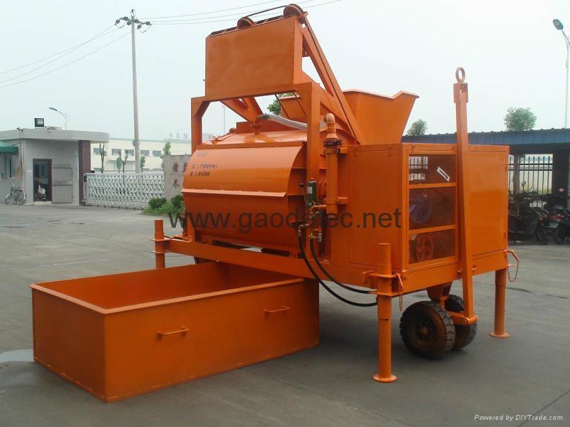 GM2000 foam concrete mixer