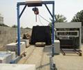 wire cutting machine to cut foam concrete blocks in small size for sale