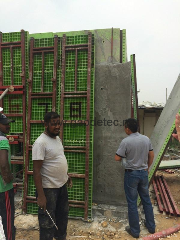 Light weight foam concrete wall for building gm2000 gp30 for Foam concrete construction
