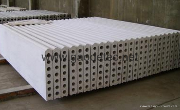 Foam concrete wall panel machine gd gaodetec china for Concrete foam walls