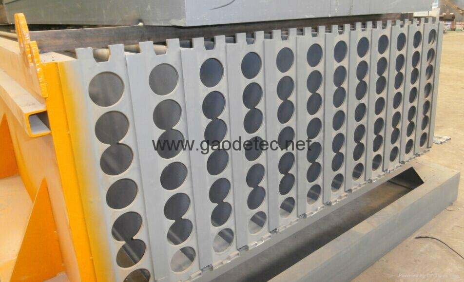 Foam concrete wall panel machine gd gaodetec china for Cement foam blocks