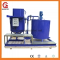GMA500‐1000E big grout mixer and agitator to Singapore