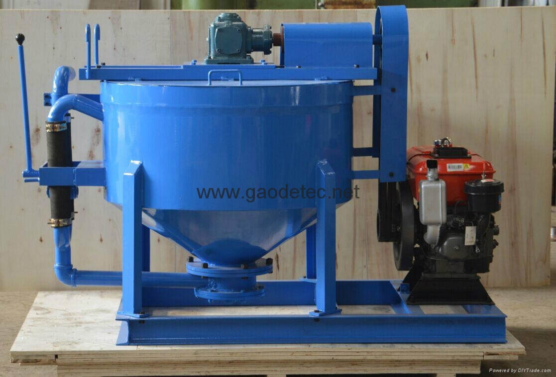 customized blue grout mixer for Philippines customers