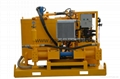 Double cylinders diesel hydraulic grout station to Jordan for dam grouting