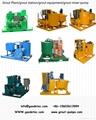 new design 100L/min hydraulic grout pump