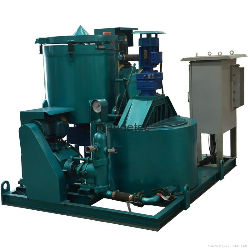 Mortar grout plant in difference angle, other type grout station for option