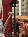 Hydraulic engineering drilling machine
