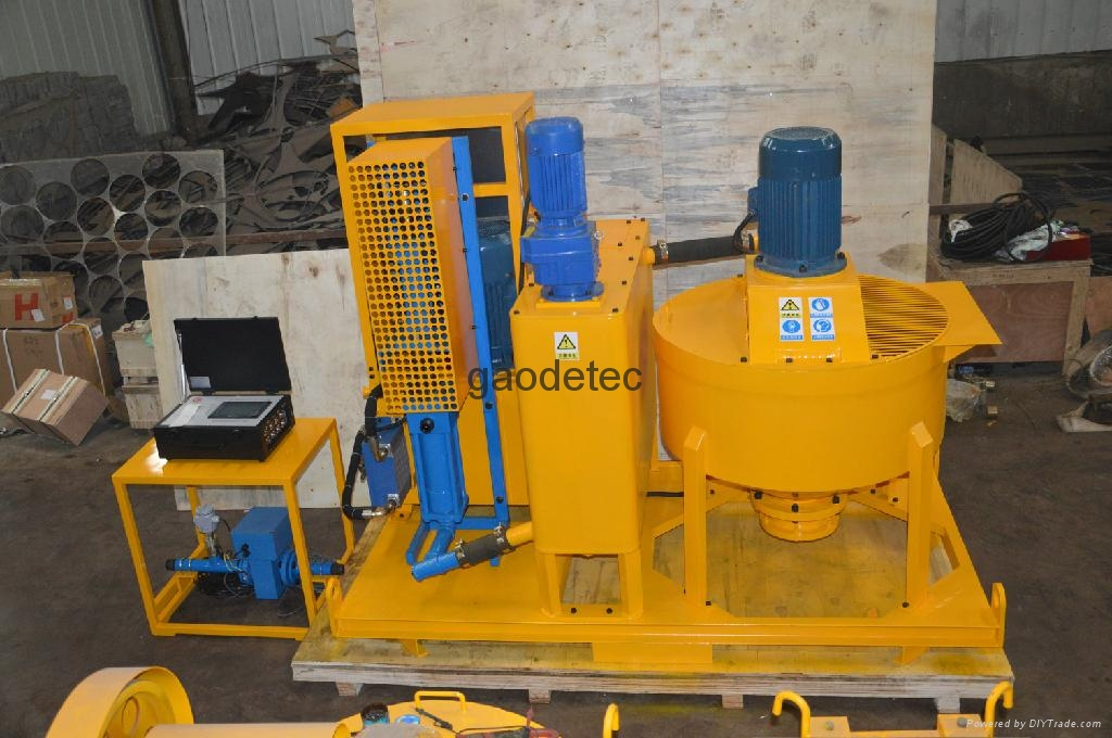 grout mixer pump in different angles, other type electric grout mixer pump for sale