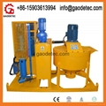 Gaodetec Cement mixing and grouting Equipment to Malaysia