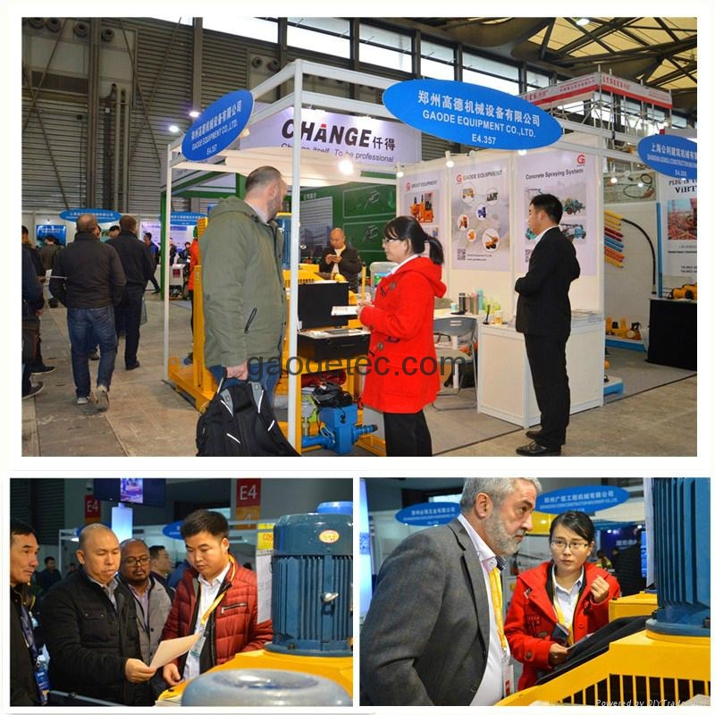 cement mixing and grouting equipment in Bauma, other electric drive and diesel engine drive cement mixing and grouting equipment for sale