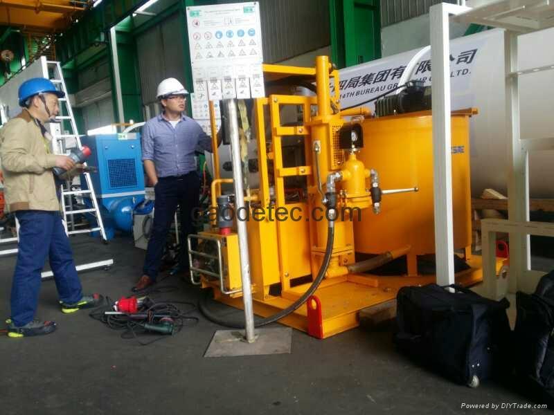 液壓注漿泵站 4