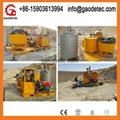 popular grout mixer pump with factory price to Qatar