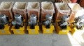 Stressing jack with electric oil pump are delivered to Philippines