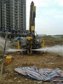 Jet grouting equipment for soil stabilization