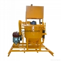 High shear high speed grout mixer in Geotechnical Engineering