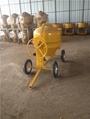 Mini diesel power concrete mixer machine