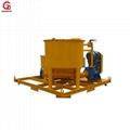 GMA850/1500E Bentonite cement grout mixer and agitator