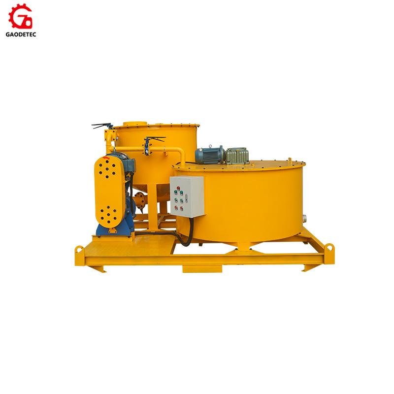 GMA850/1500E Bentonite cement grout mixer and agitator 1