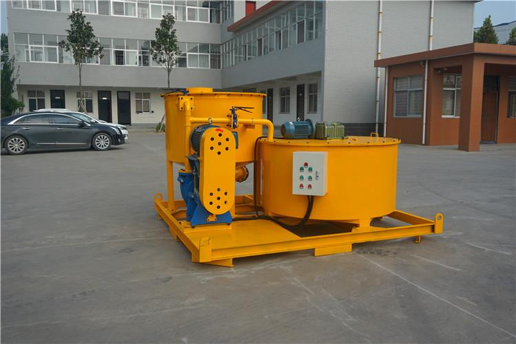 GMA850/1500E Bentonite cement grout mixer and agitator 7