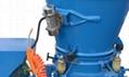 refractory dry-mix spraying shotcrete machine