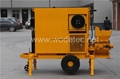 Building machine concrete pumping mobile concrete mixer