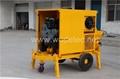 Building machine concrete pumping mobile concrete mixer