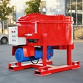 Low price refractory pan mixer machine made in China