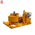 Compact mixing plant for cement grouting