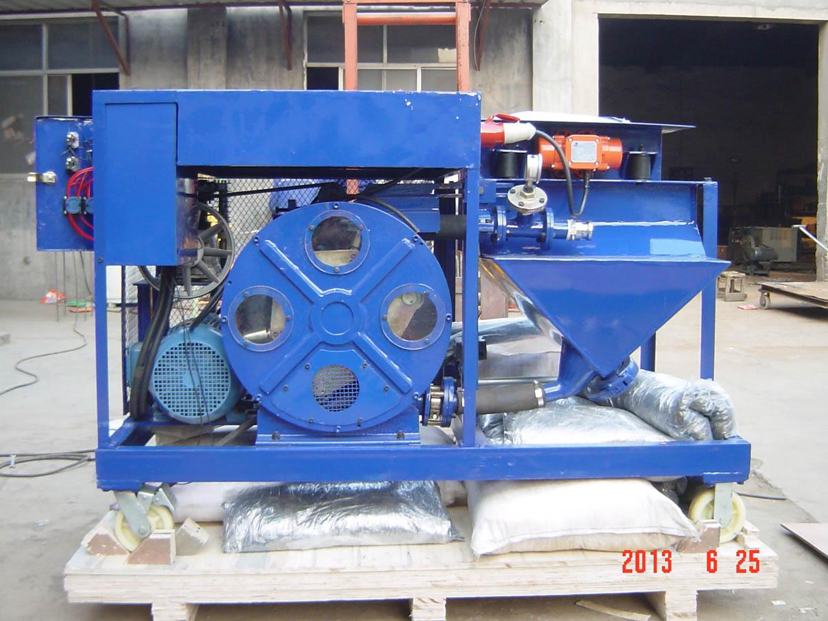 Plaster pump