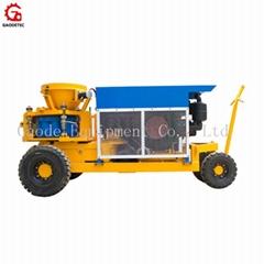 GSZ3000D diesel drive dry and wet shotcrete machine