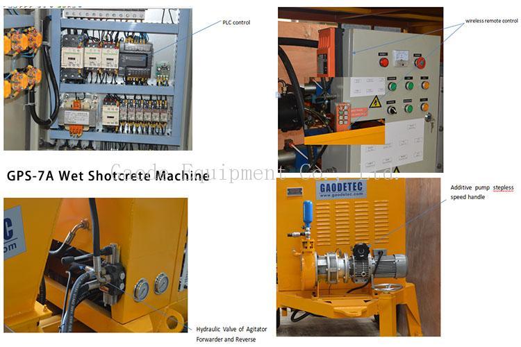 shotcrete machine