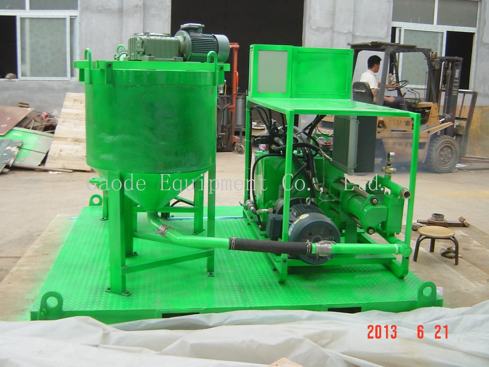 液壓注漿泵站 11