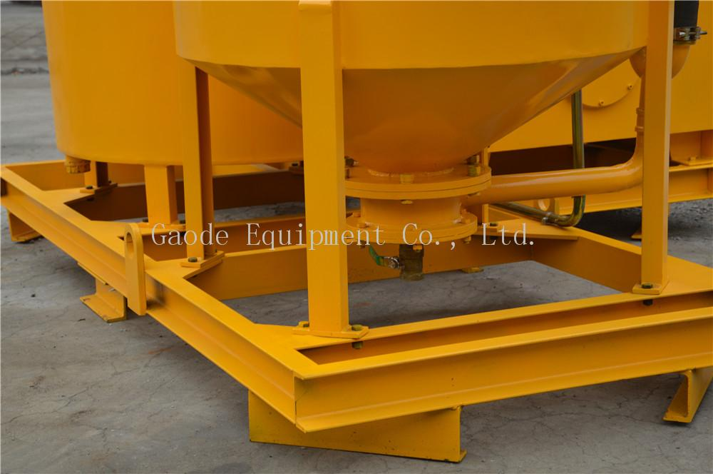 grouting pump plant